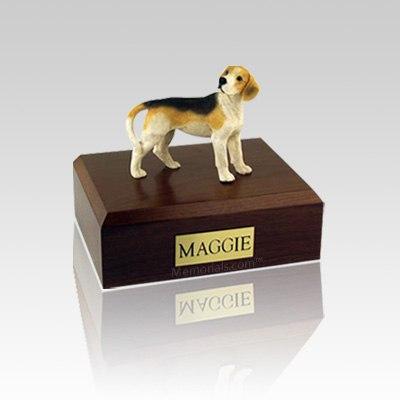 Beagle Standing Small Dog Urn
