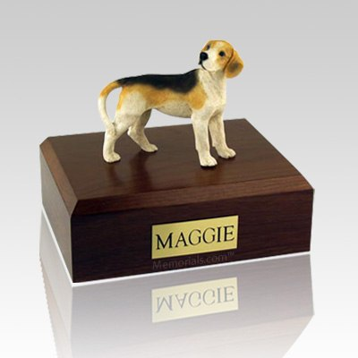 Beagle Standing X Large Dog Urn