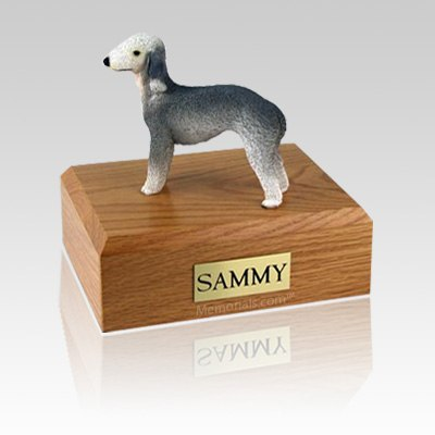 Bedlington Terrier Large Dog Urn