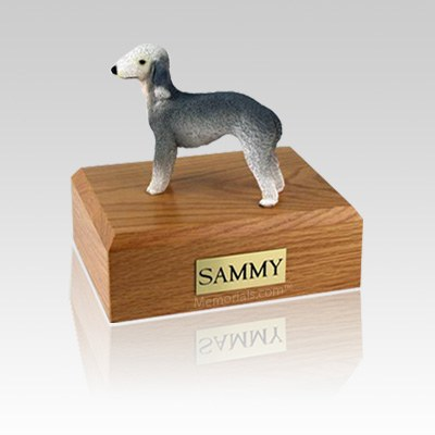 Bedlington Terrier Medium Dog Urn