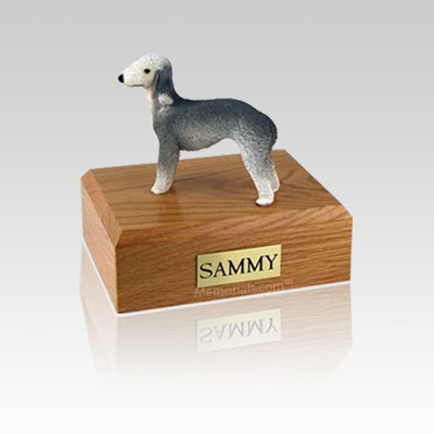 Bedlington Terrier Small Dog Urn