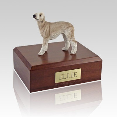 Bedlington Terrier Tan X Large Dog Urn