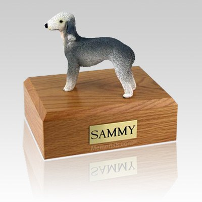 Bedlington Terrier X Large Dog Urn