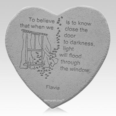 Believe Heart Stone