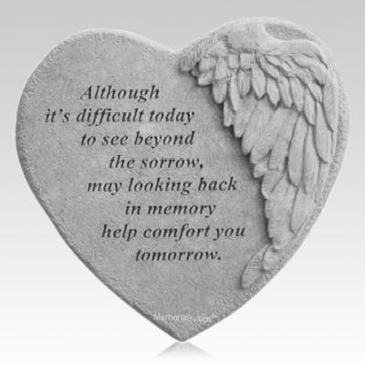 Beyond Sorrow Angel Heart Stone