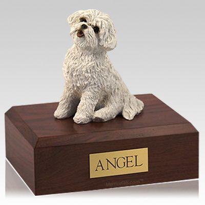 Bichon Frise X Large Dog Urn