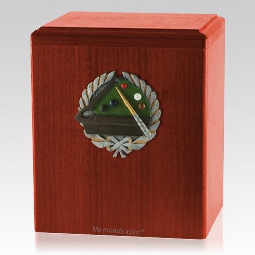 Billiard Cherry Cremation Urn