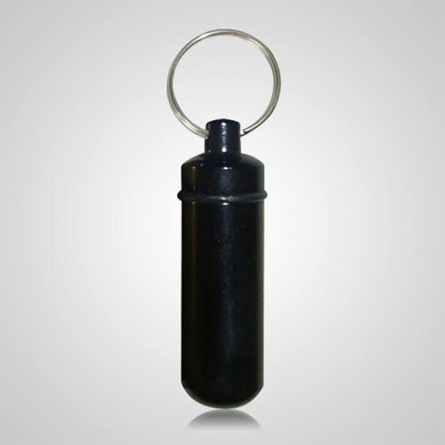Black Pet Keepsake Keychain
