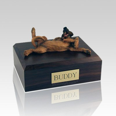 Bloodhound Laying X Large Dog Urn