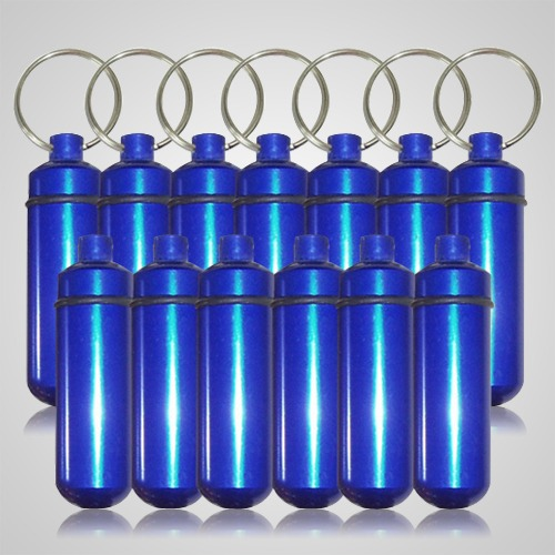 Blue Pet Keepsake Discount Keychains