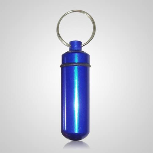 Blue Pet Keepsake Keychain