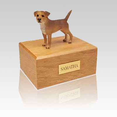 Border Terrier Wheaten Medium Dog Urn