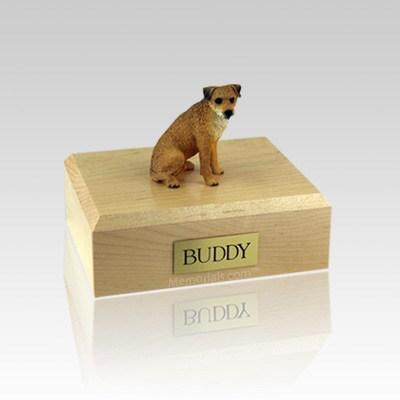 Border Terrier Medium Dog Urn