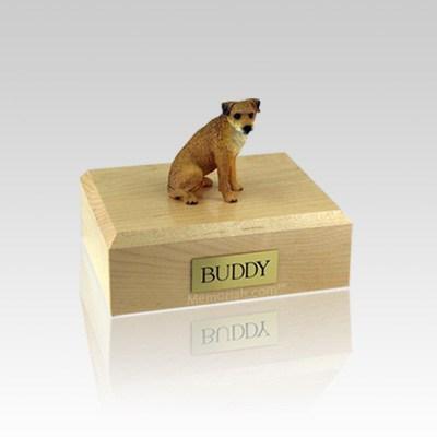 Border Terrier Small Dog Urn