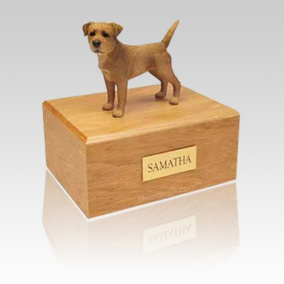 Border Terrier Wheaten Large Dog Urn