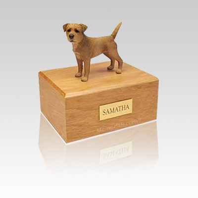 Border Terrier Wheaten Small Dog Urn