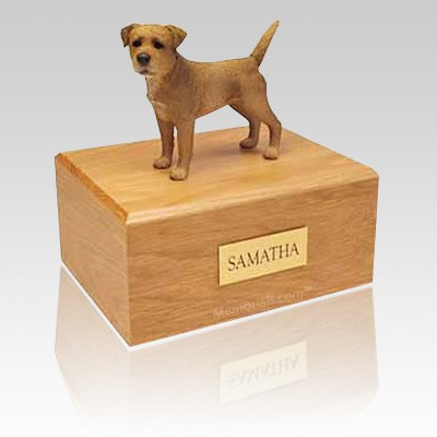 Border Terrier Wheaten X Large Dog Urn