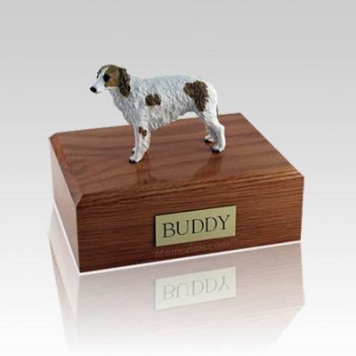Borzoi Medium Dog Urn