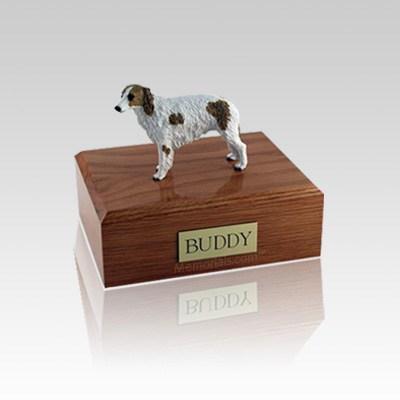 Borzoi Small Dog Urn
