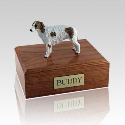 Borzoi X Large Dog Urn