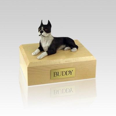 Boston Terrier Medium Dog Urn