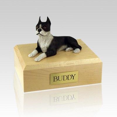 Boston Terrier X Large Dog Urn