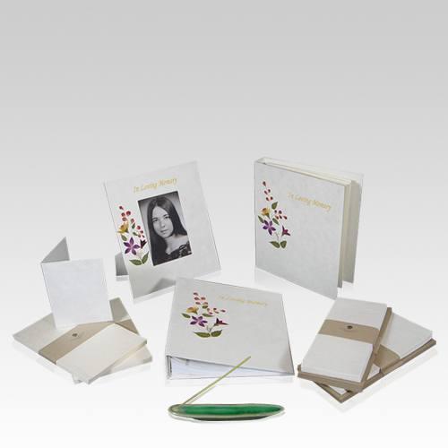 Bouquet Memorial Stationery Set