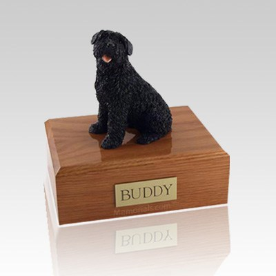 Bouvier Medium Dog Urn