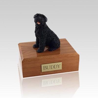 Bouvier Small Dog Urn