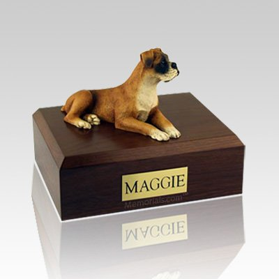 Boxer Ears Down X Large Dog Urn