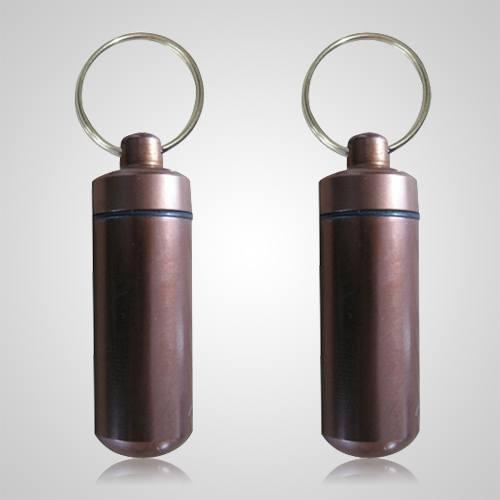 Brown Pet Keepsake Keychains