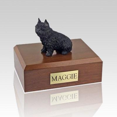 Brussels Griffon Black X Large Dog Urn