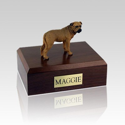 Bull Mastiff Large Dog Urn