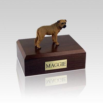 Bull Mastiff Medium Dog Urn