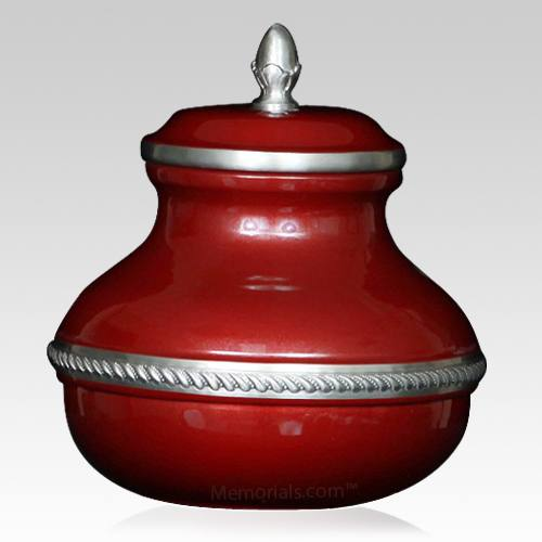 Burgundy Silverado Small Cremation Urn