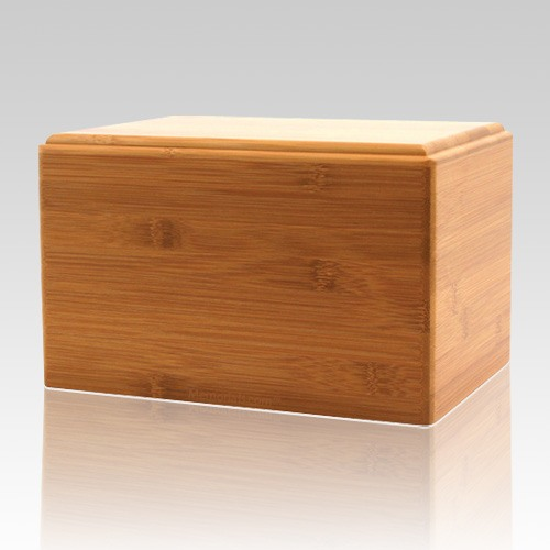 Bamboo Eternity Medium Wood Urn
