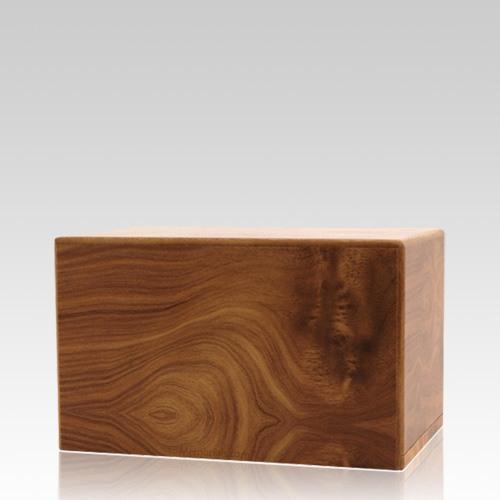 Natural Pet Eternity Small Wood Urn