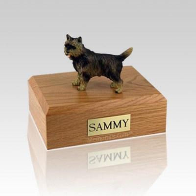 Cairn Terrier Brindle Large Dog Urn