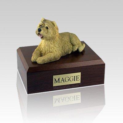 Cairn Terrier Tan Large Dog Urn