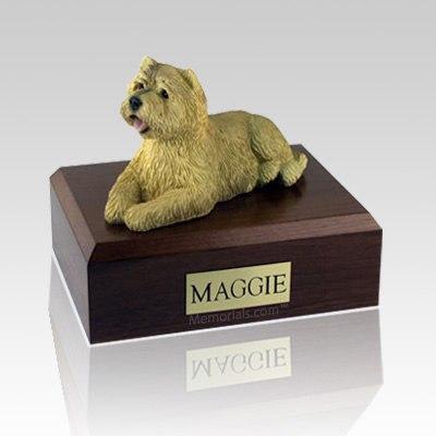 Cairn Terrier Tan X Large Dog Urn