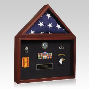 Capitol Flag Honors Display Case
