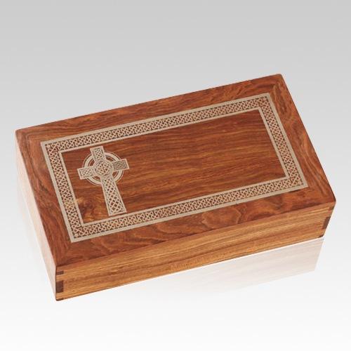 Celtic Caribbean Cremation Urn