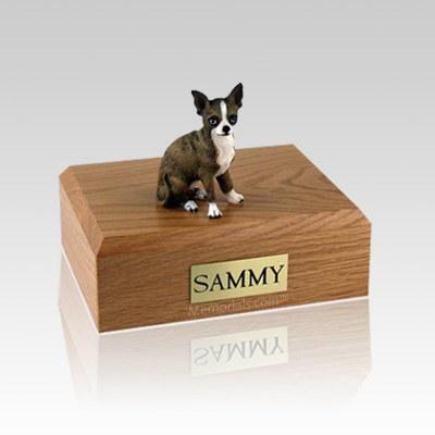 Chihuahua Brindle X Large Dog Urn