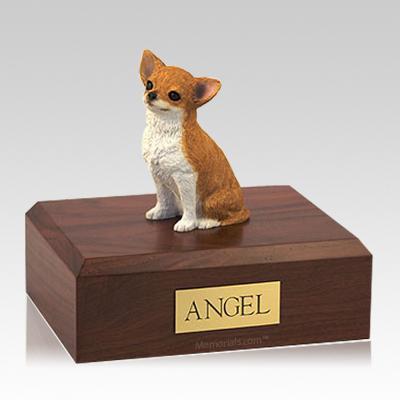 Chihuahua Fawn Large Dog Urn