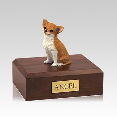 Chihuahua Fawn Medium Dog Urn