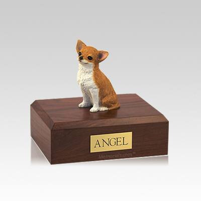 Chihuahua Fawn Small Dog Urn
