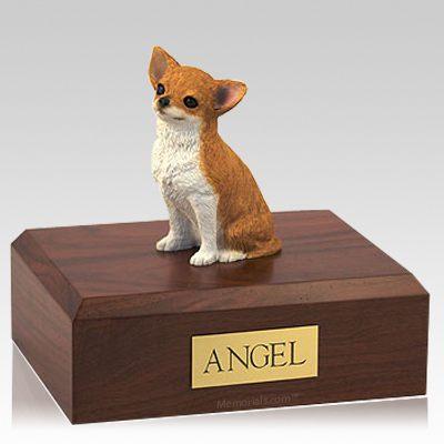Chihuahua Fawn X Large Dog Urn