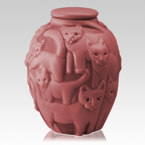 Clever Cat Cremation Urns