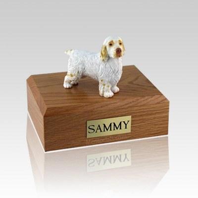 Clumber Spaniel Large Dog Urn