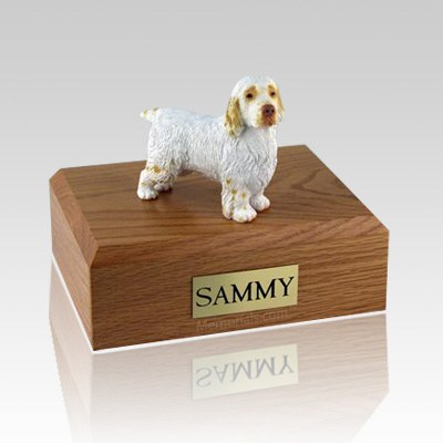 Clumber Spaniel X Large Dog Urn